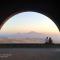 Эпический вид на гору Арарат из Арки Чаренца