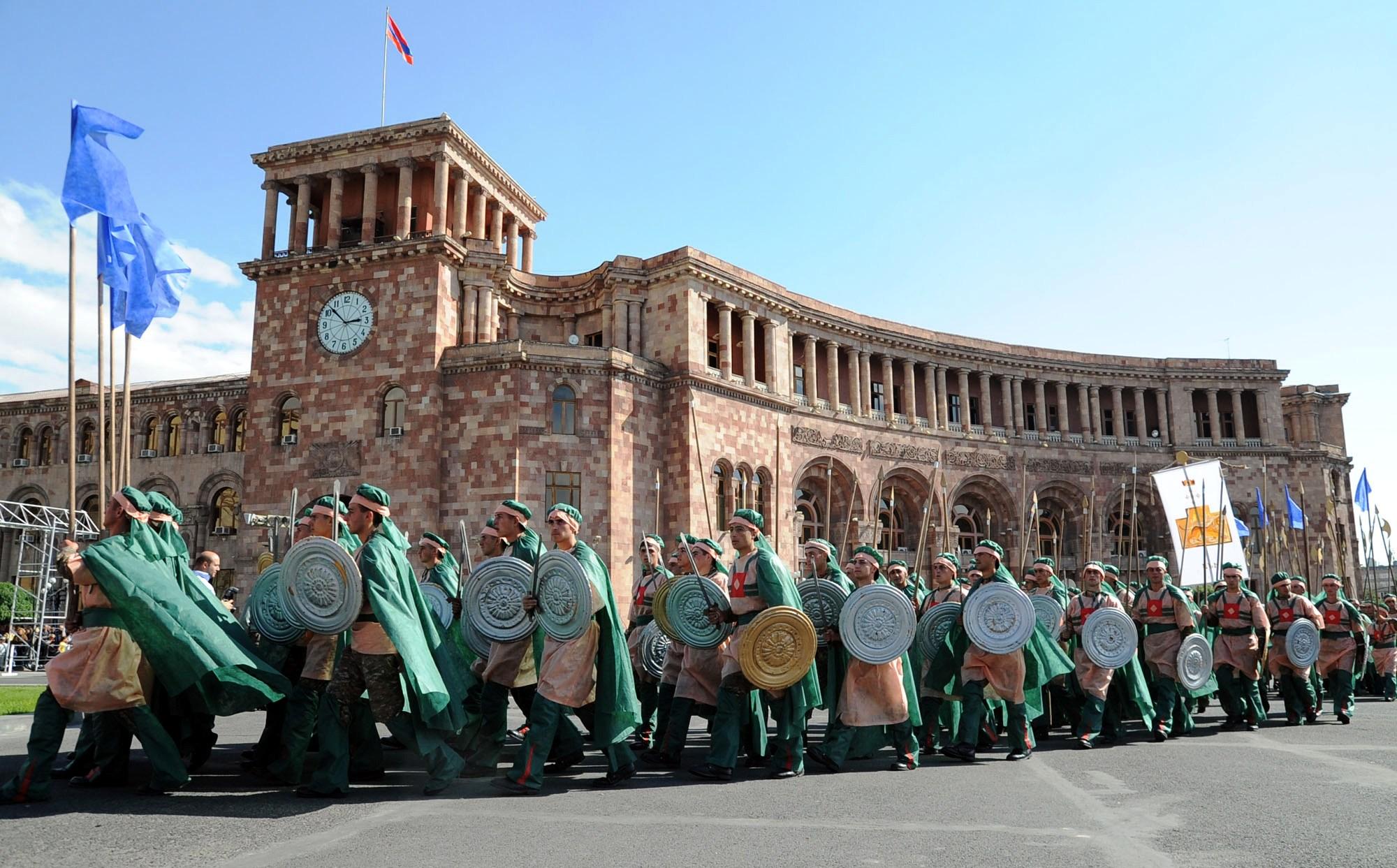 Праздник Эребуни - Ереван