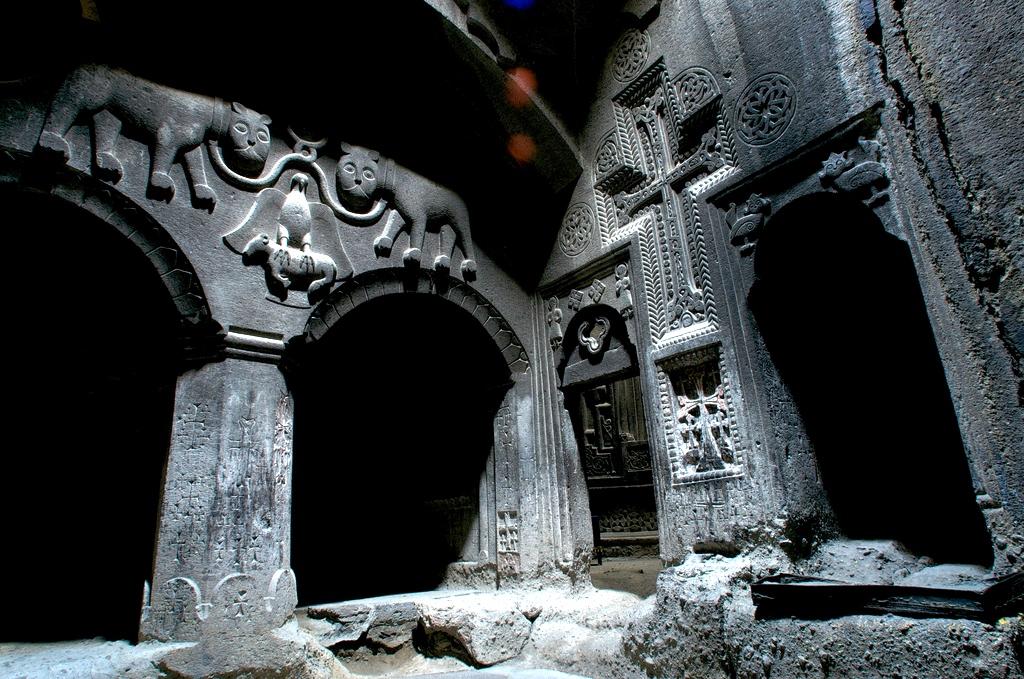 Пещерный монастырь Гегард