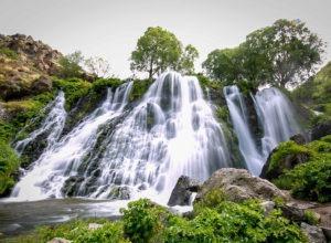 Водопад Шаки в Сисиане