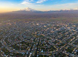 Город Армавир в Армении