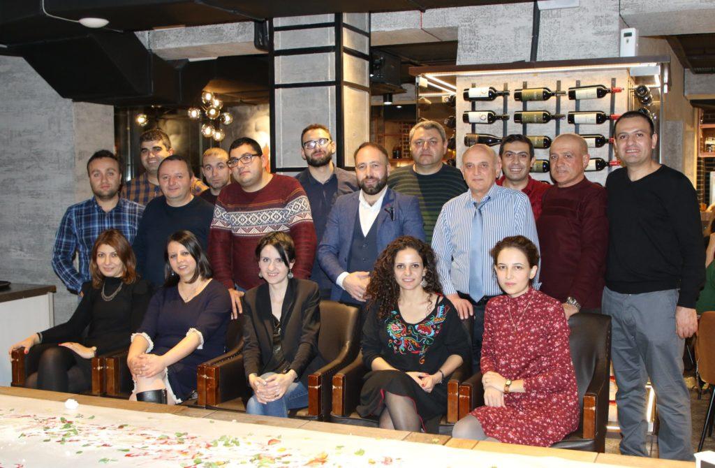 Команда Барев Армения Тур в Ереване